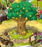 Golden Apple village tree