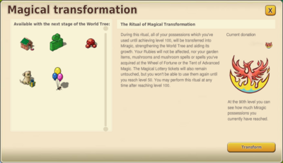 Magical Transformation