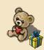 Stuffed Bear with Heart