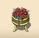 Red Flower Barrel