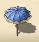 Blue Parasol