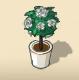 Silver Rose Tree