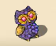 Valuable owl replica