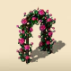 Pink Arch of Roses