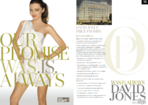 David Jones press ad