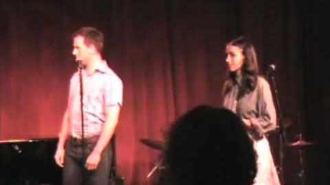 Voice lesson- cast party at Birdland PART ONE