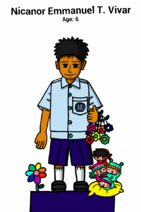 Vivar Nicanor Emmanuel T.(Niel, Age 6) within Mirmo & Friends