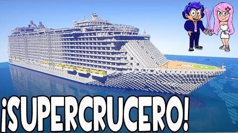 CRUCERO EN MINECRAFT OASIS OF THE SEAS - NOS VAMOS DE EXCURSIÓN