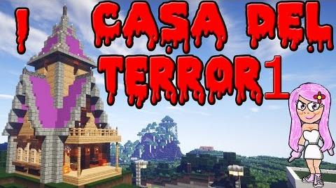 CASA DEL TERROR 1 (IDEAL PARA HALLOWEEN) EN MINECRAFT - Parte 1 PRESENTACION Y AVENTURA