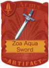 Zoa Aqua Sword