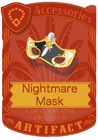 Nightmare Mask Gold