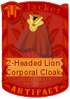 2-Headed Lion Corporal Cloak
