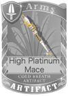 High Platinum Mace
