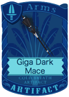 Giga Dark Mace