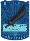 Giga Fear Great Sword