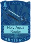 Holy Aqua Rapier