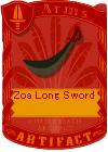 Zoa Long Sword 3
