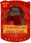 2-headed Lion Major Coat