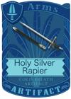 Holy Silver Rapier