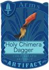 Holy Chimera Dagger