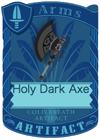Holy Dark Axe