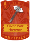 Silver War Hammer