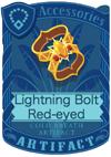 Lightning Bolt Red-eyed Armlet