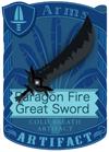 Paragon Fear Great Sword