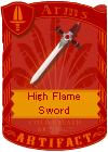 High Flame Sword