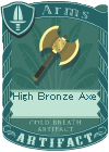 High Bronze Axe