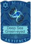 Deep Sea Green-eyed Armlet