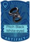 Pitch Black White-eyed Armlet