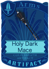 Holy Dark Mace