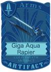 Giga Aqua Rapier