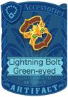 Lightning Bolt Green-eyed Armlet