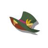 Mint Cat Silk Hat(Green)