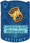 Lightning Bolt White-eyed Armlet