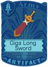 Giga Long Sword Pink