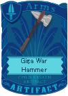 Giga War Hammer