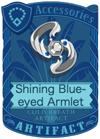 Shining Blue-eyed Armlet
