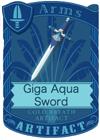 Giga Aqua Sword