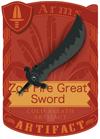 Zoa Fear Great Sword