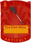 Zoa Dark Mace