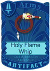 Holy Flame Whip