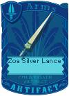 Zoa Silver Lance