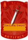 Zoa Long Sword 2