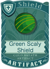 Green Scaly Shield