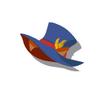 Brown Cat Silk Hat