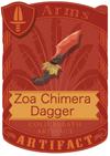 Zoa Chimera Dagger