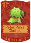 Peter Pan's Clothes